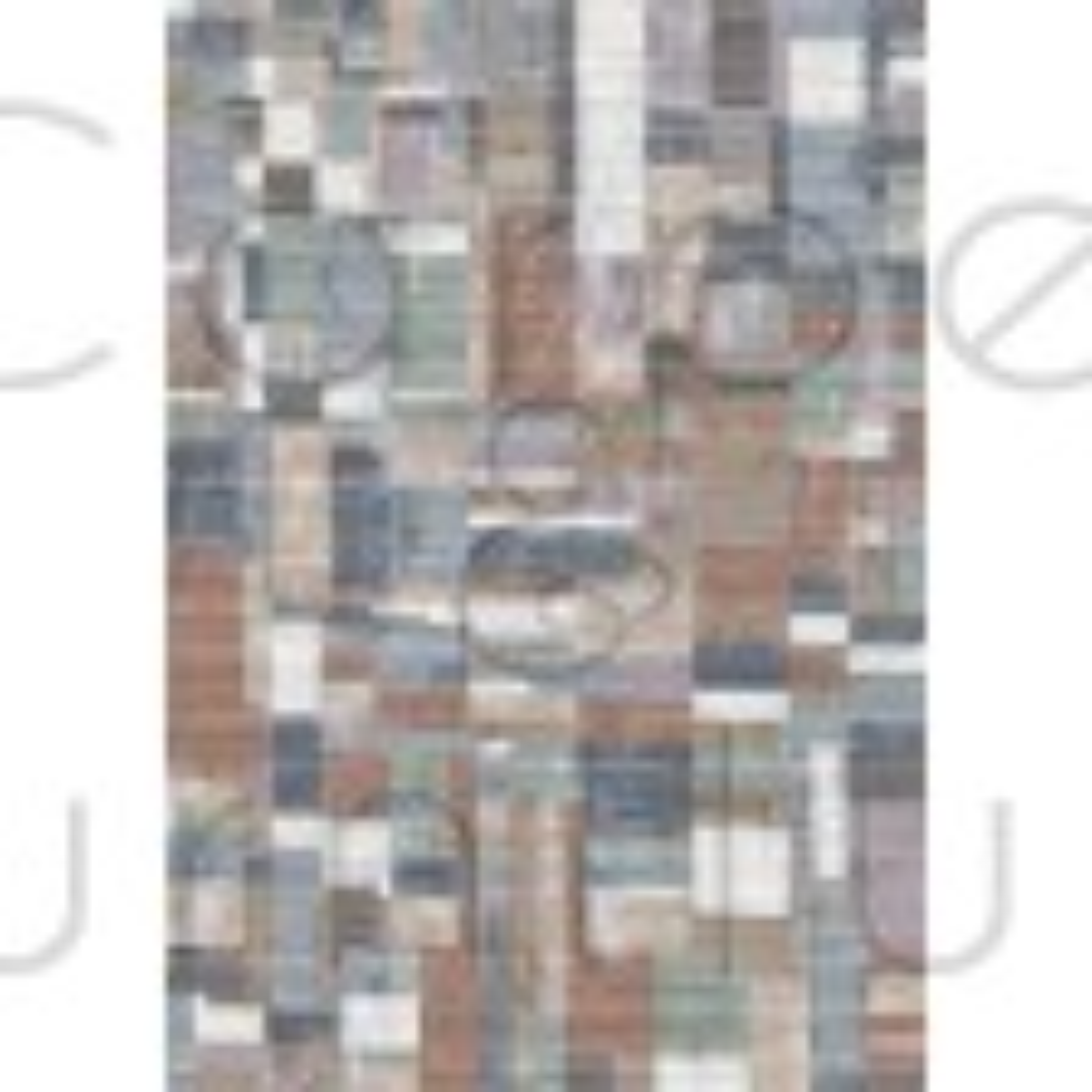 Galleria Rug - Square 63244 2626 - Size Runner 67 x 230 cm
