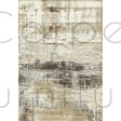 "Galleria Rug - Abstract Natural 63378 6282 - Size 133 x 195 cm (4'4"" x 6'5"")"