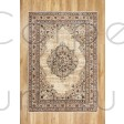 "Alhambra Traditional Rug - 6345c ivory/beige - Size 133 x 195 cm (4'4"" x 6'5"")"