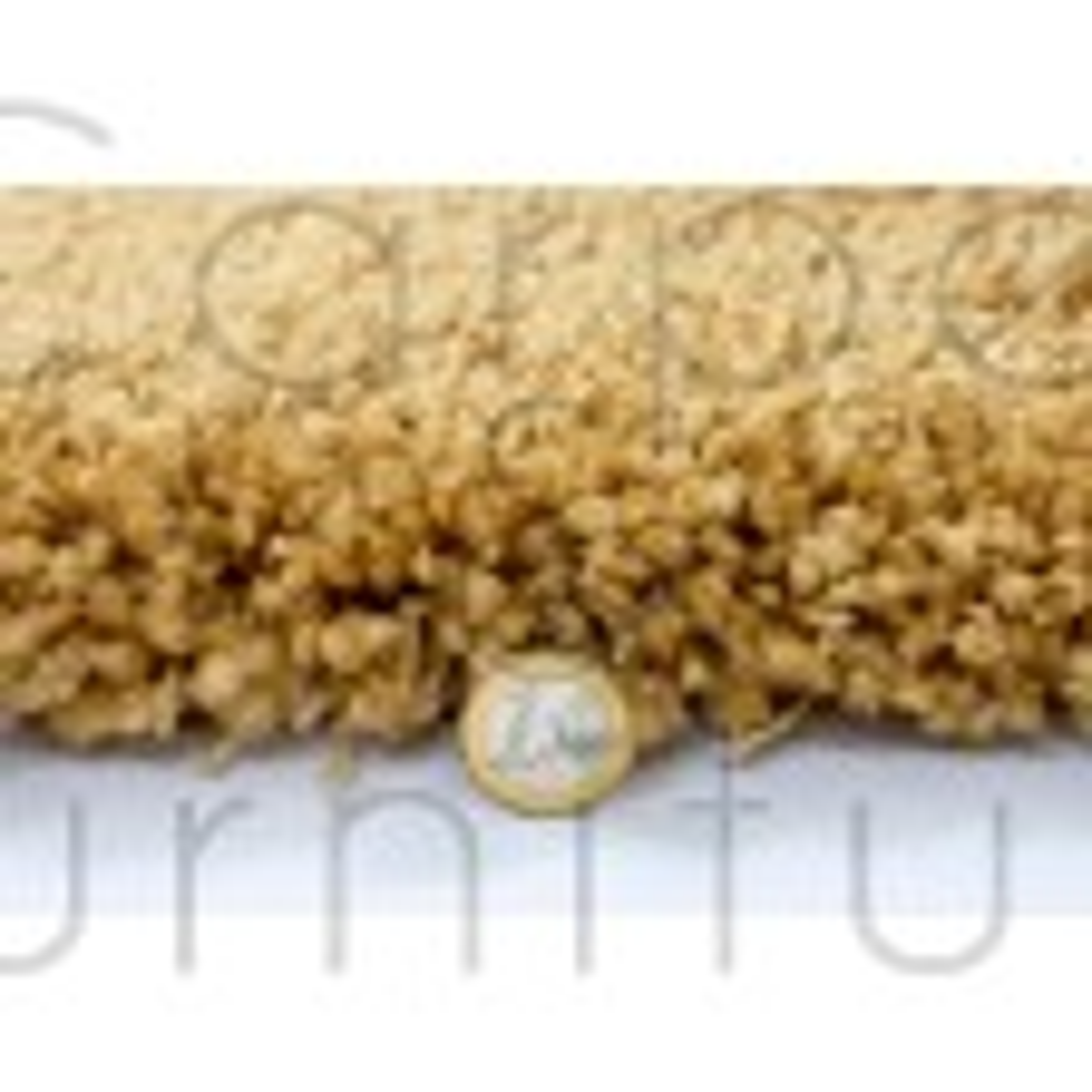 "Athena Shaggy Rug - Ochre Yellow - Size 140 x 200 cm (4'7"" x 6'7"")"