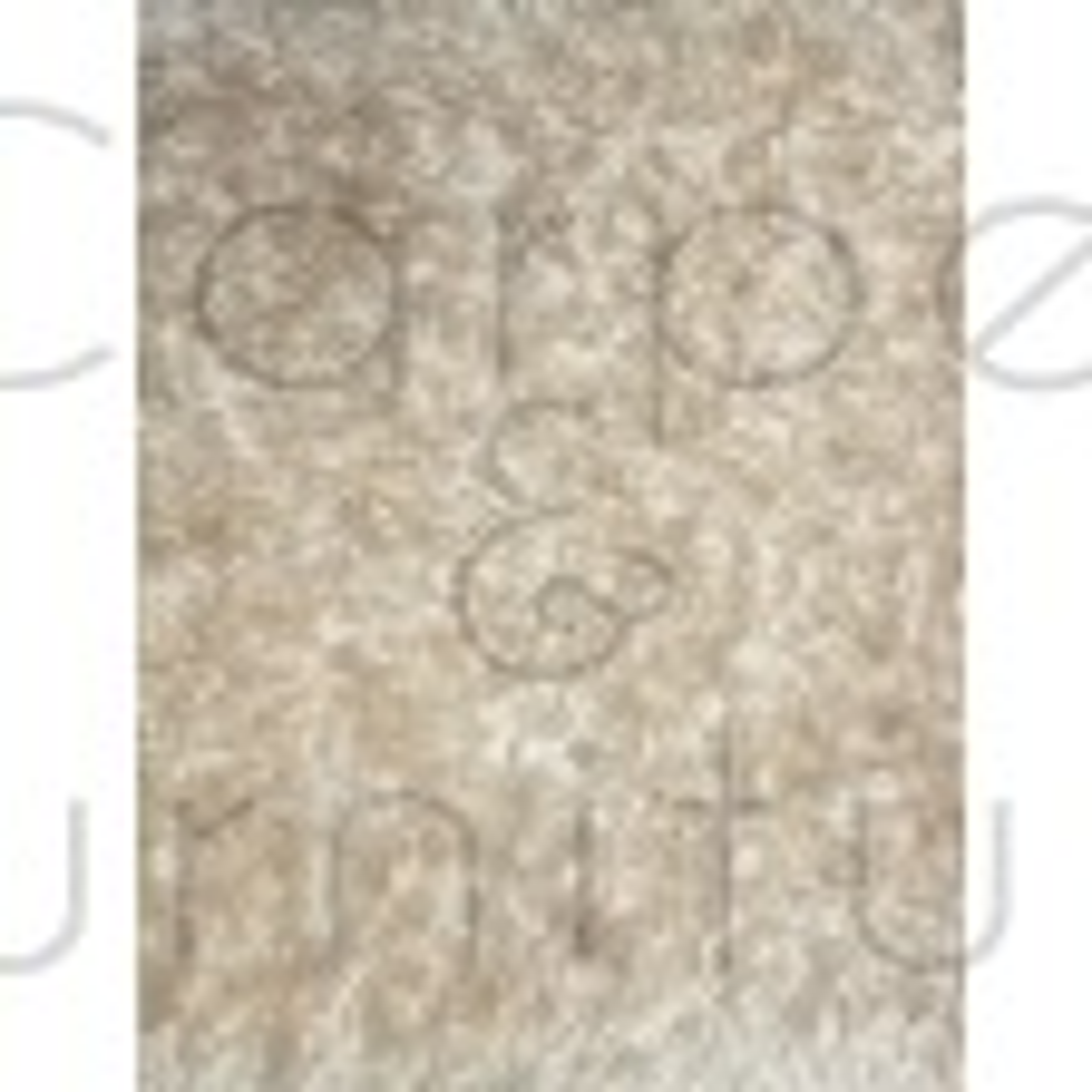 "Velvet Shaggy Rug - Ivory - Size 160 x 230 cm (5'3"" x 7'7"")"