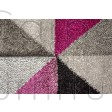 "Aurora Rug - Grey Purple - Size 200 x 290 cm (6'7"" x 9'6"")"