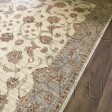 Afghan Ziegler Hand-knotted Wool Rug - Cream/Green 169 x 242 cm