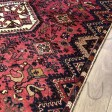 Persian Shiraz Hand knotted Tribal Wool Rug - 145 x 236 cm