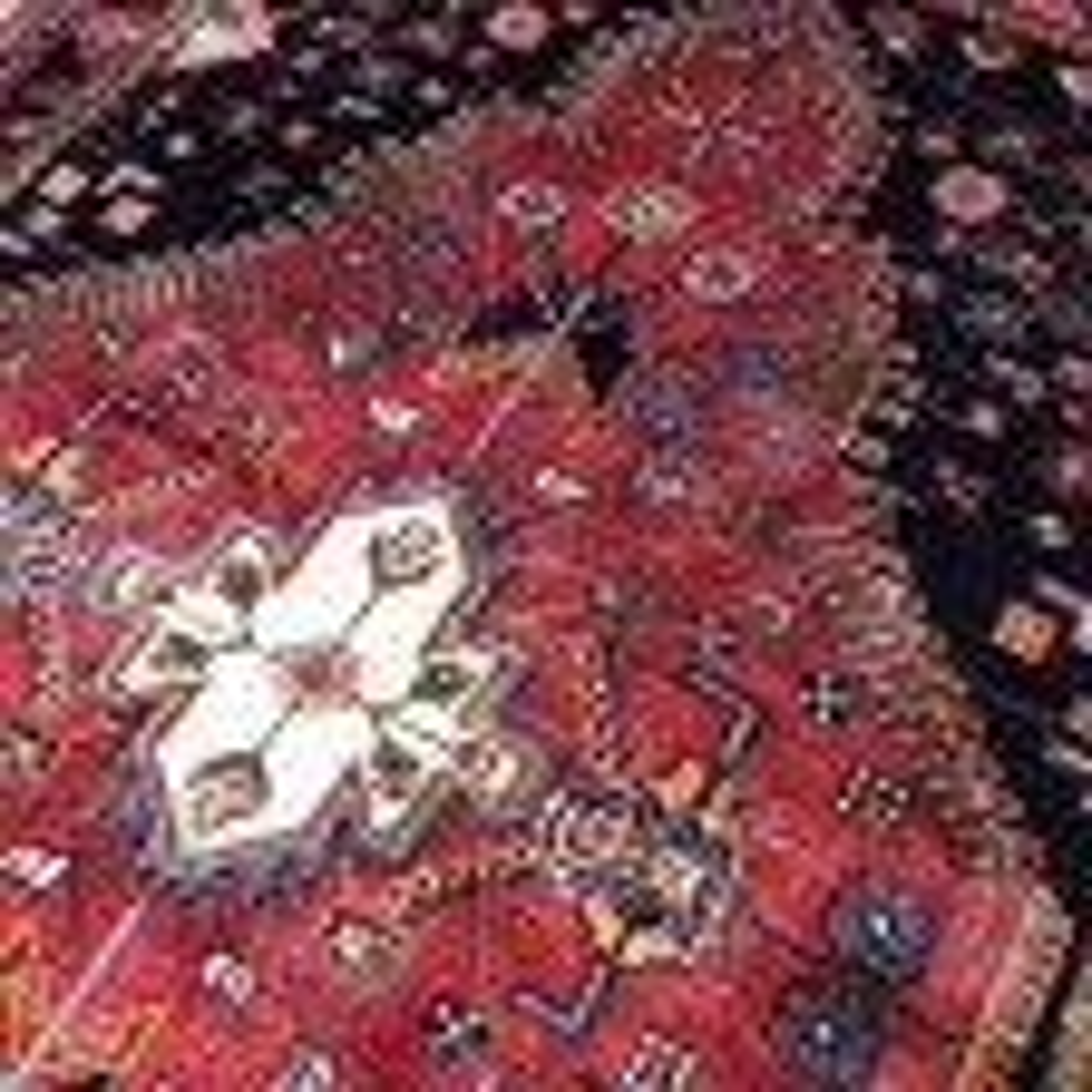 Persian Hamadan Tribal Rug 135 x 220 cm