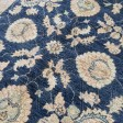 Afghan Ziegler Hand-knotted Traditional Wool Rug - Blue 158 x 242 cm