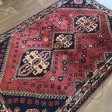Persian Shiraz Hand knotted Tribal Wool Rug - 110 x 167 cm