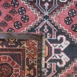 Persian Shiraz Hand knotted Tribal Wool Rug - 115 x 167 cm
