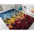 "Illusion Kingston Multi Rug - Size 160 x 230 cm (5'3"" x 7'7"")"