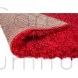 Nordic Cariboo Shaggy Rug - Red - Size Runner 60 x 230 cm