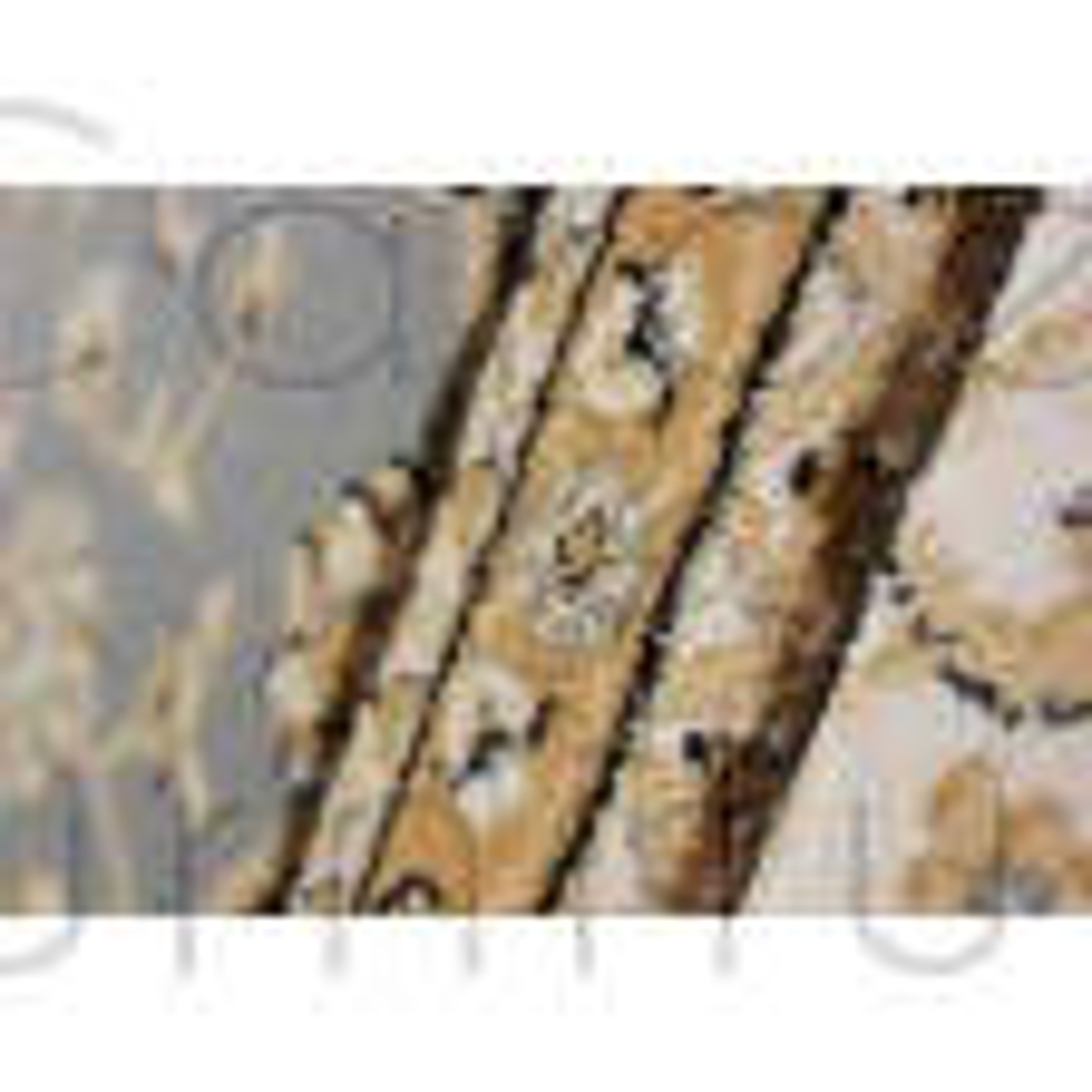 Ottoman Temple Rug - Grey - Size Runner 60 x 230 cm