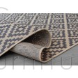 Florence Alfresco Moretti Rug - Beige Anthracite - Size Runner 60 x 230 cm