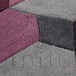 "Infinite Scope Purple Rug - Size 160 x 230 cm (5'3"" x 7'7"")"