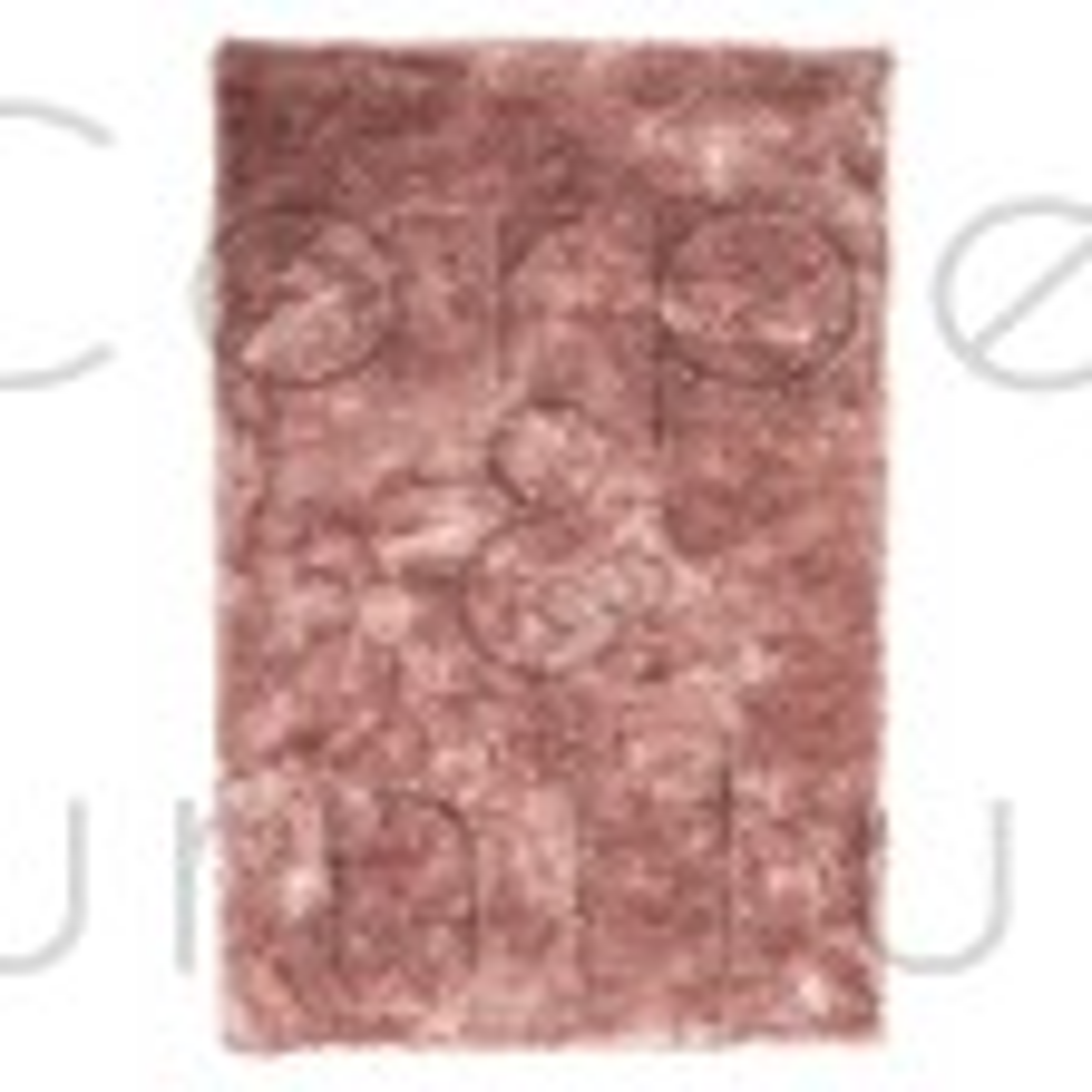 "Serenity Super-Soft Shaggy - Pink - Size 160 x 230 cm (5'3"" x 7'7"")"