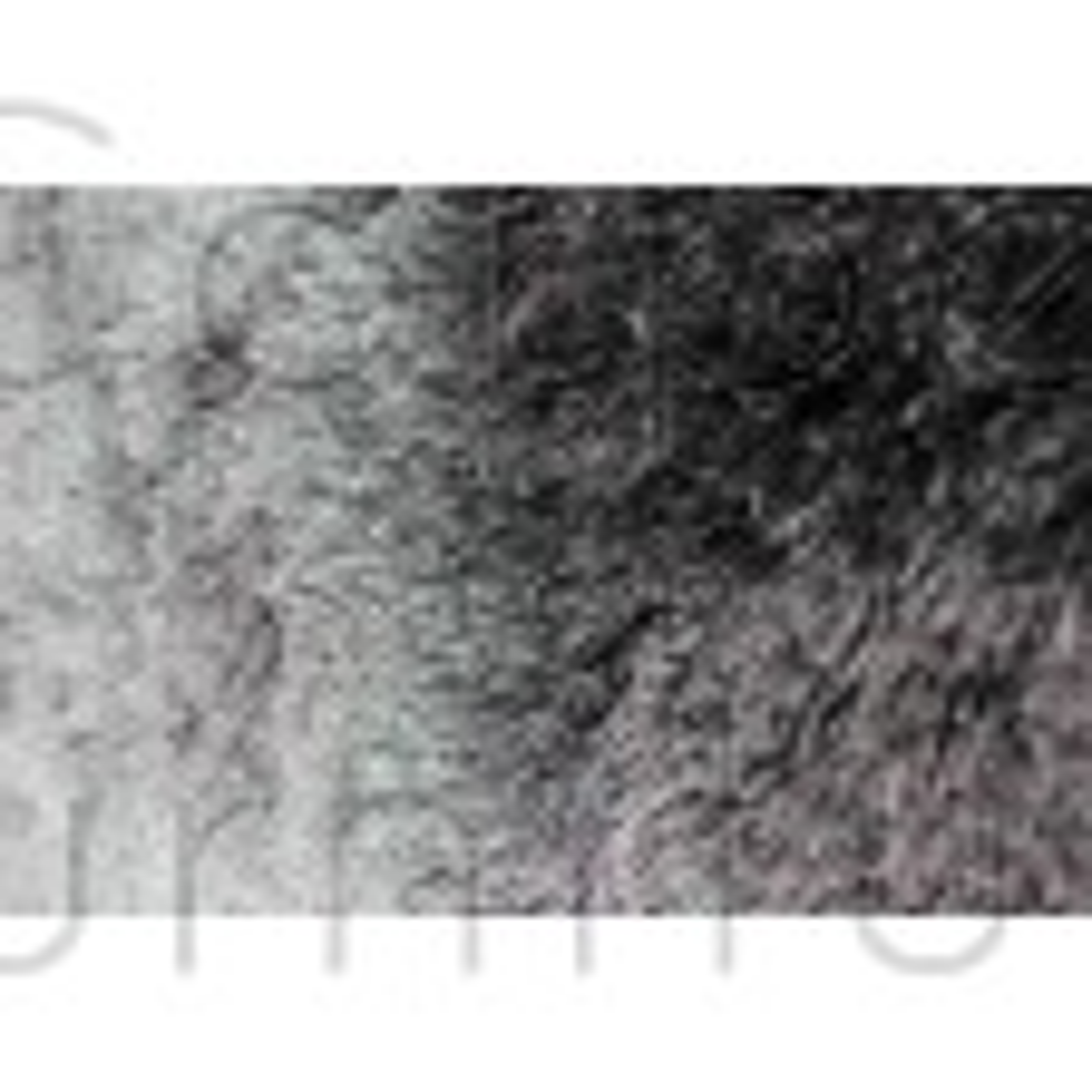 "Splendour Shadow Shaggy Rug - Charcoal - Size 60 x 110 cm (2' x 3'7"")"