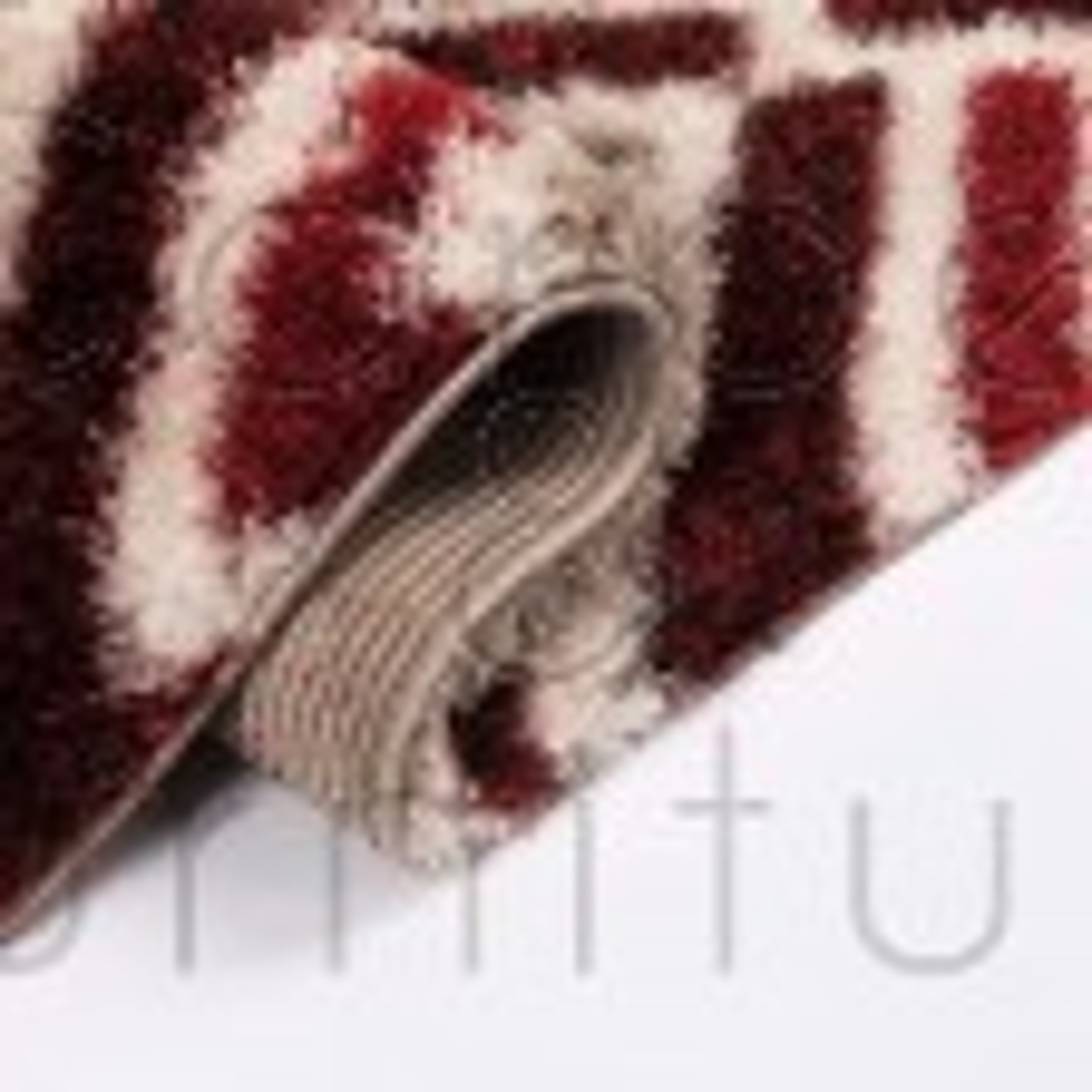 "Velvet Bijoux Rug - Red Brown - Size 80 x 150 cm (2'8"" x 5')"
