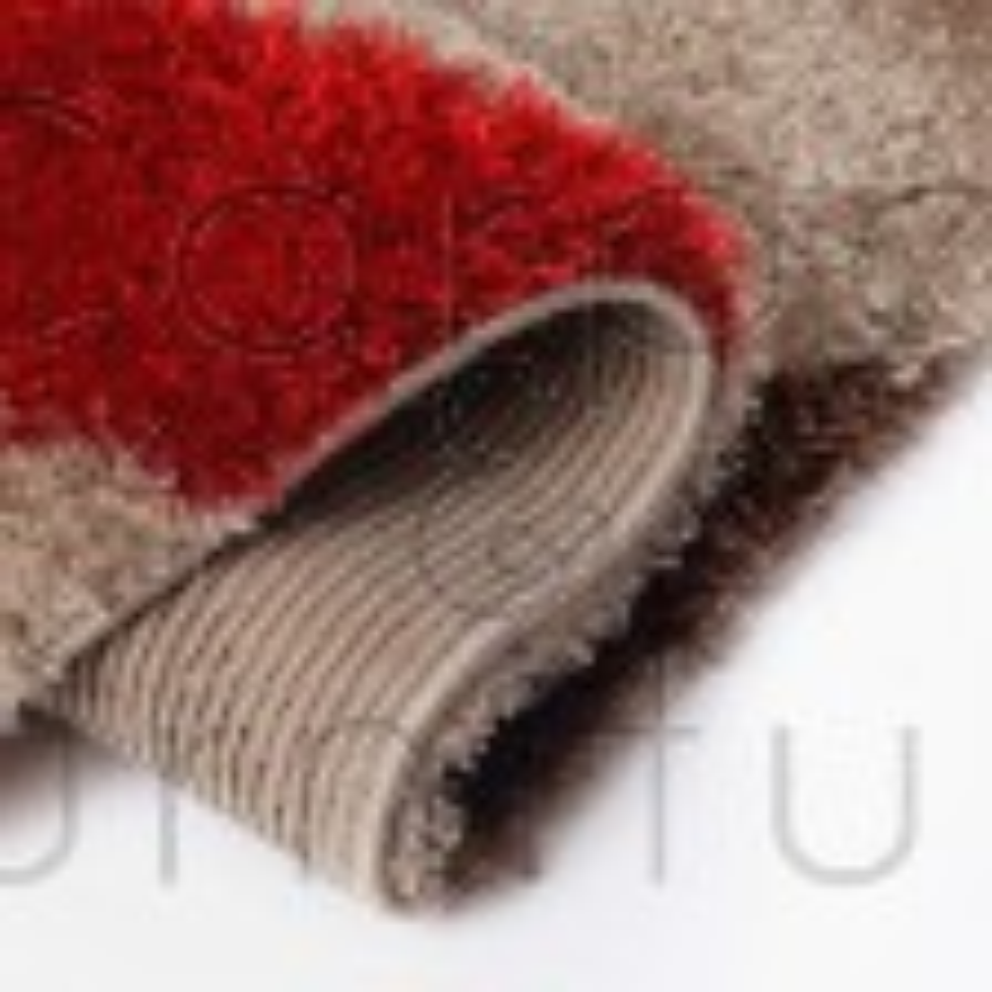 """Velvet Droplet Rug - Red Brown - Size 120 x 170 cm (4' x 5'7"""")"""