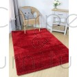 Velvet Shaggy Rug - Red - Size Runner 60 x 230 cm