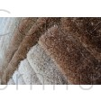 "Verge Furrow Brown Natural Rug - Size 80 x 150 cm (2'8"" x 5')"