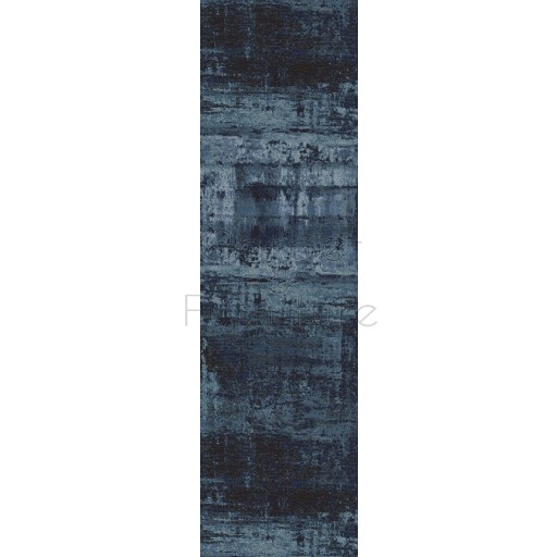 Galleria Rug - Abstract Blue 63378 5131 - Size Runner 67 x 330 cm