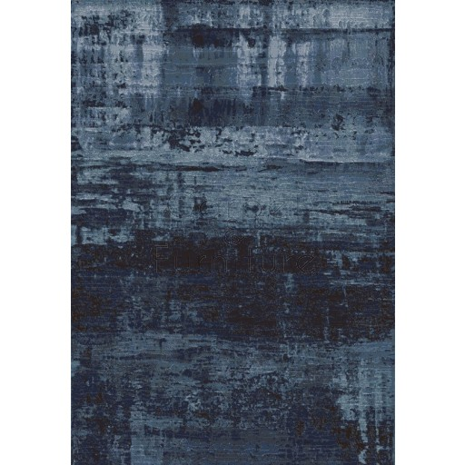 "Galleria Rug - Abstract Blue 63378 5131 - Size 133 x 195 cm (4'4"" x 6'5"")"