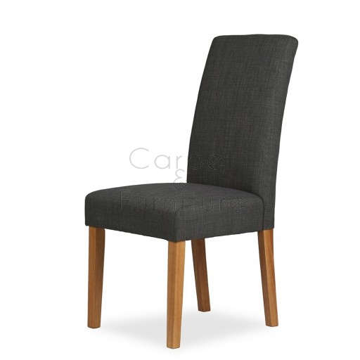 Upholstered Dining Chair - Slate
