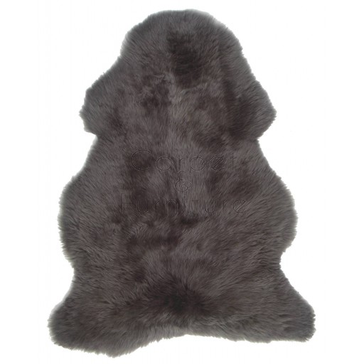 British Sheepskin Rug  - Mink Brown-Treble Skin