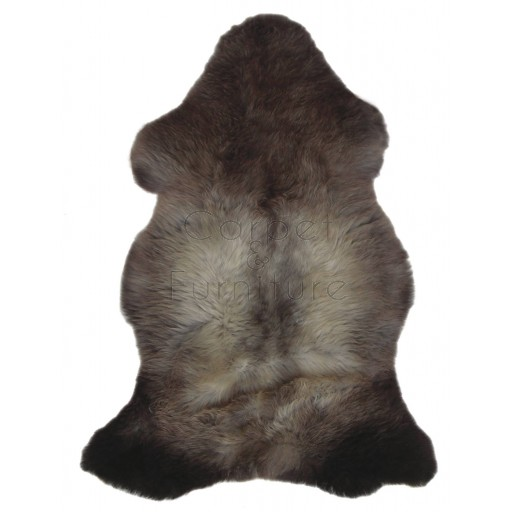 British Sheepskin Rug  - Natural Pretty-Single Skin