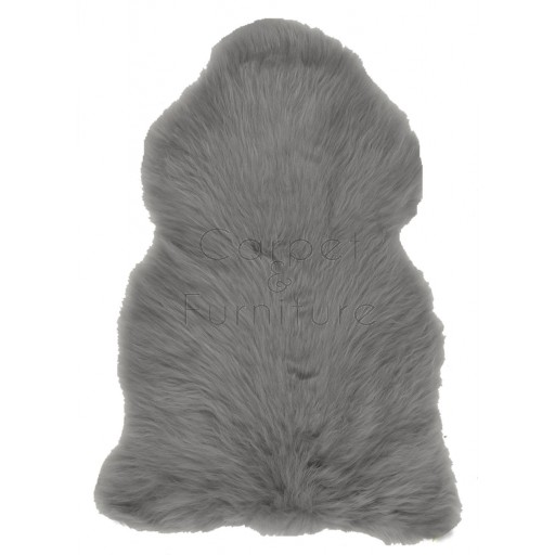 British Sheepskin Rug  - Slate Grey-Quad Skin