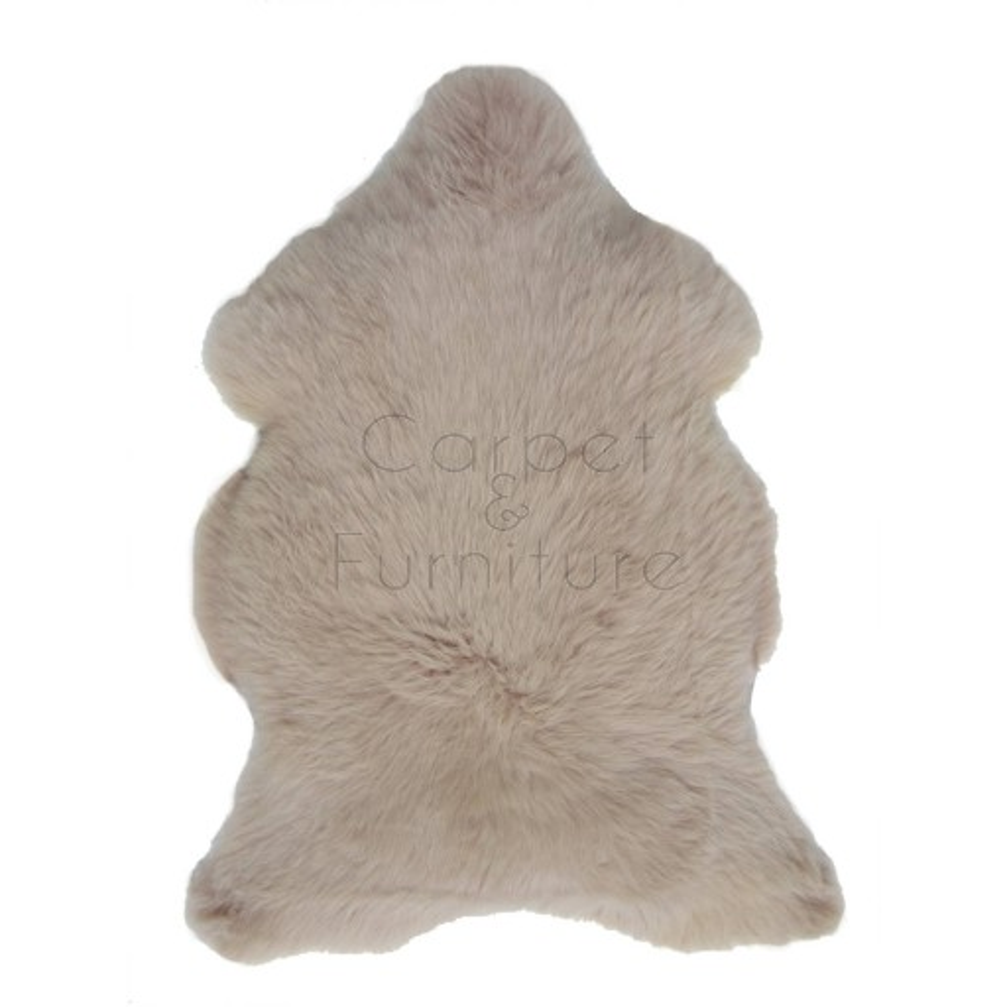 British Sheepskin Rug  - Warm Beige-Quad Skin