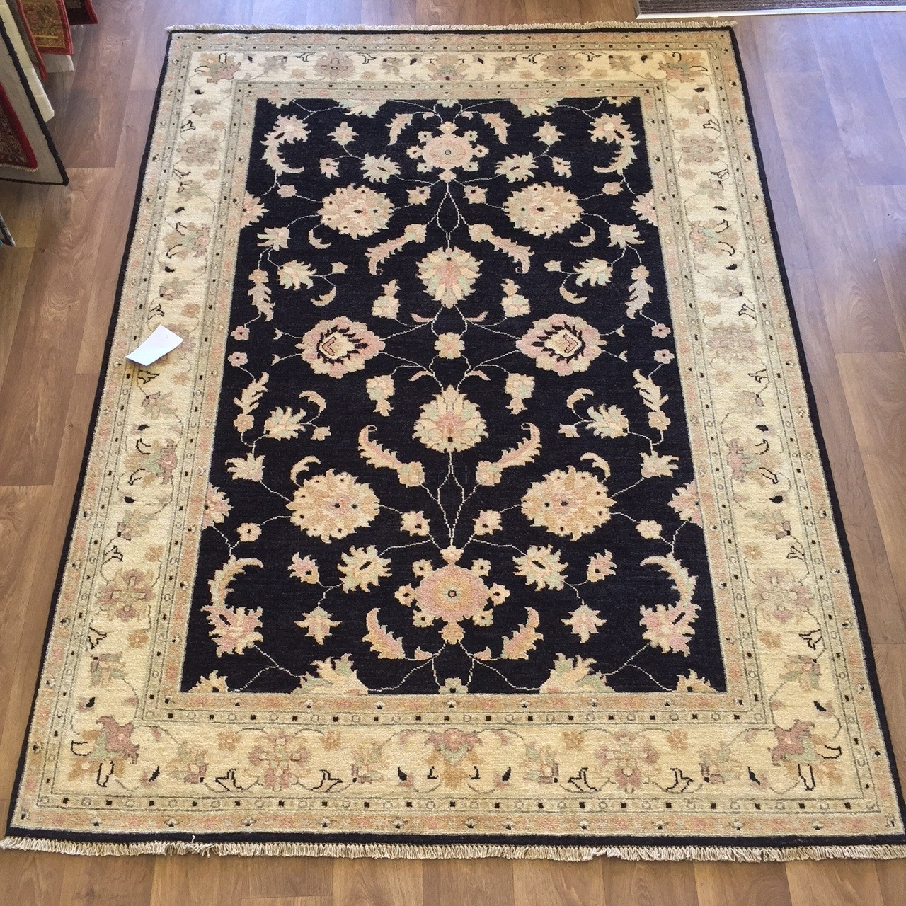 Afghan Ziegler Hand Knotted Traditional