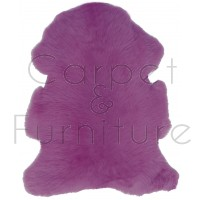 British Sheepskin Rug  - Cerise