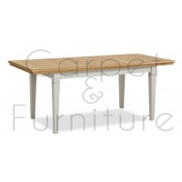 York Compact Extendable Dining Table