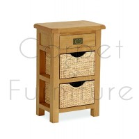 Winchester Telephone Table with Baskets
