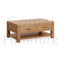 Creswell Coffee Table with Drawers