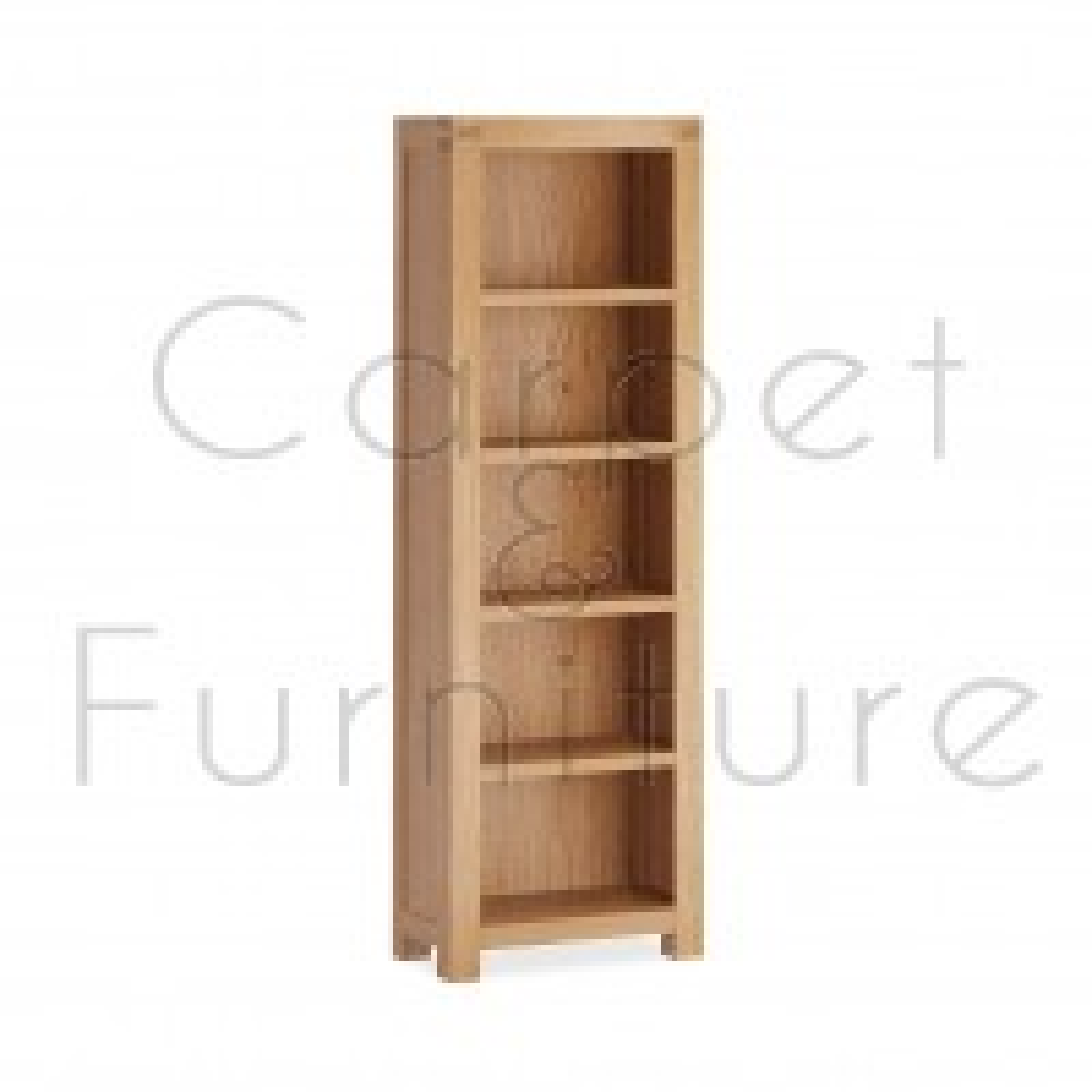 Creswell Slim Bookcase