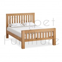 Creswell Double Bed (Mattress Not Included)