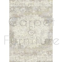 "Galleria Rug - Faded Medallion 63375 6252 - Size 280 x 380 cm (9'2"" x 12'5"")"