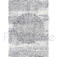 "Galleria Rug - Faded Medallion 63375 9676 - Size 160 x 230 cm (5'3"" x 7'7"")"