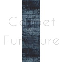 Galleria Rug - Abstract Blue 63378 5131 - Size Runner 67 x 230 cm