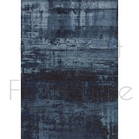 "Galleria Rug - Abstract Blue 63378 5131 - Size 160 x 230 cm (5'3"" x 7'7"")"
