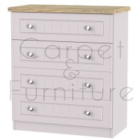 Salzburg 4 Drawer Chest - Kaschmir