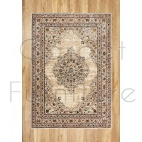 "Alhambra Traditional Rug - 6345c ivory/beige - Size 160 x 230 cm (5'3"" x 7'7"")"