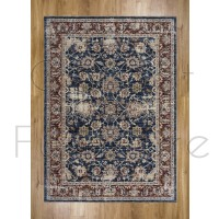 "Alhambra Traditional Rug - 6549a d.blue/d.blue - Size 133 x 195 cm (4'4"" x 6'5"")"
