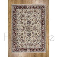 """Alhambra Traditional Rug - 6549a ivory/ivory - Size 200 x 290 cm (6'7"""" x 9'6"""")"""