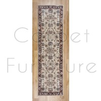 Alhambra Traditional Rug - 6549a ivory/ivory - Size Runner 67 x 230 cm