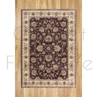 "Alhambra Traditional Rug - 6992a dk.blue/red - Size 80 x 150 cm (2'8"" x 5')"