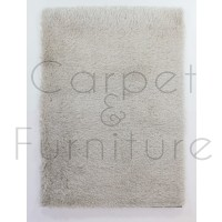 "Dazzle Shaggy Rug - Natural - Size 60 x 110 cm (2' x 3'7"")"
