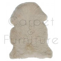 British Sheepskin Rug  - Cornish Cream-Treble Skin