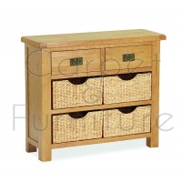 Winchester Small Sideboard with Baskets